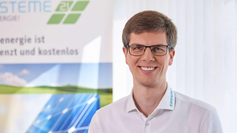 Herr Jens Unterharnscheidt ist Geschäftsführer bei e.systeme21