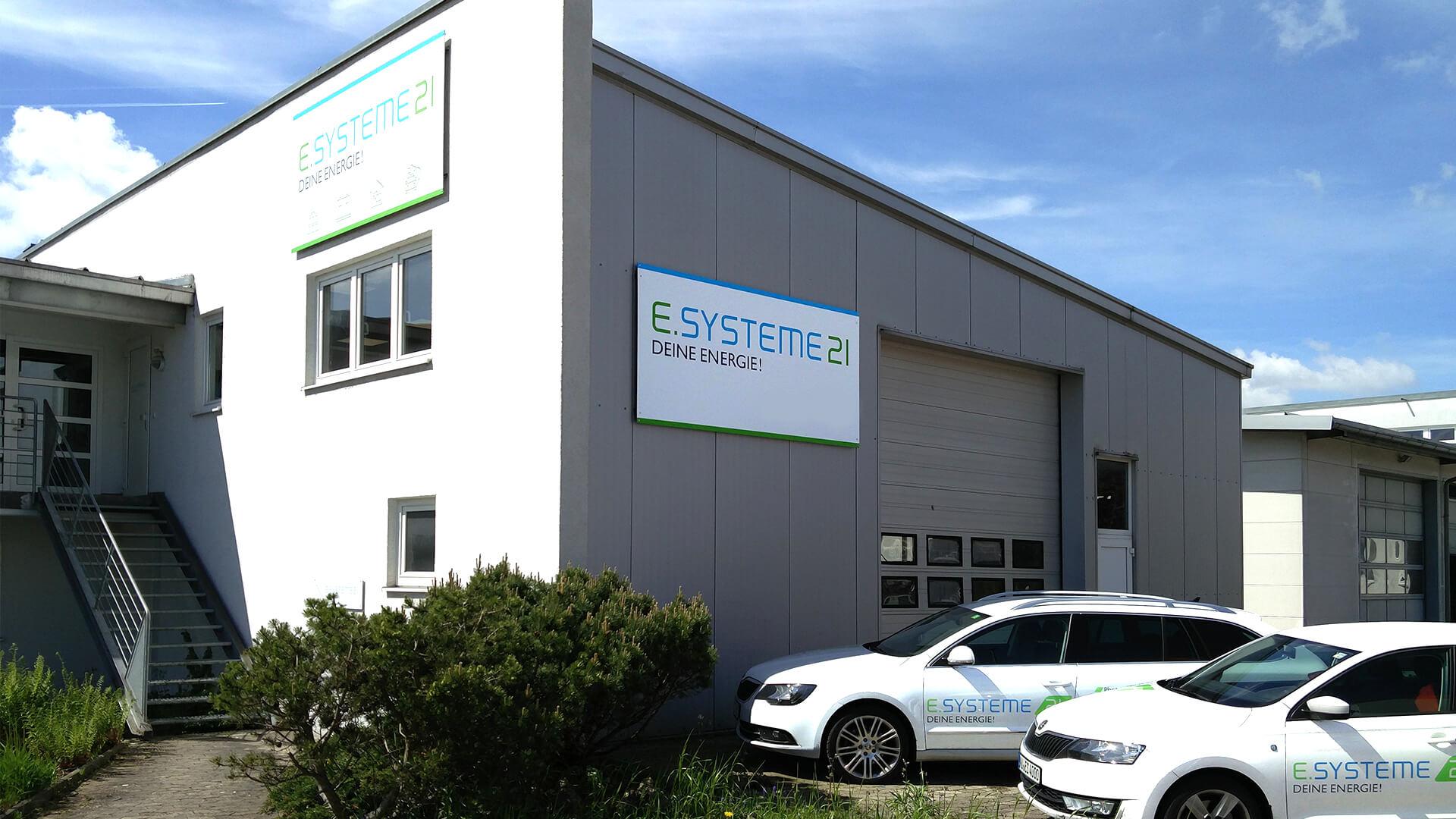 e.systeme21 GmbH Firmengebäude