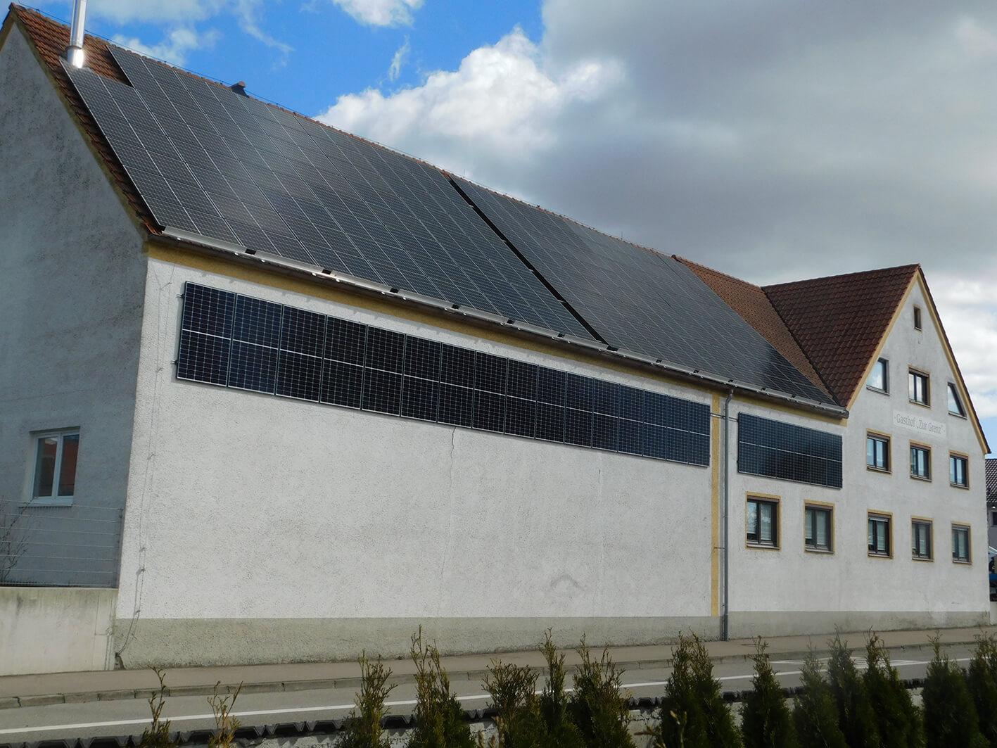 Referenz e.systeme21   Restaurant zur Grenz, Tapfheim